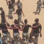 أفراد قوات الطوارىء يحتفون بتحقيق إنجازهم الأمني بالإطاحة بالإرهابيين في بيشة .  #السعودية #الأمن #بيشة  - https://t.co/ioeqDxFTqH