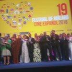 Foto de familia del palmarés del #19FestivalMalaga @festivalmalaga @turismodemalaga @Malaga @OrgullodeMalaga https://t.co/juOSkMIucf