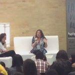 Elizabeth Eulberg responde preguntas del público sobre cómo empezó a escribir historias, en la #FILBo2016. https://t.co/zVRlnzUhto