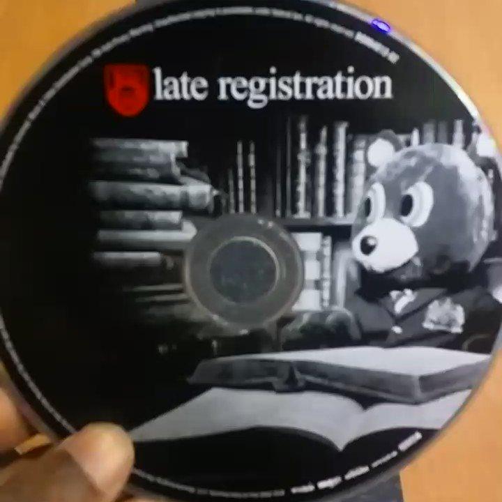 #LateRegistration @KanyeWest
