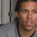 UCs Chris Moore talks about his draft moment. More tonight on #SportsWrap on @FOX19 @mulatto15 @GoBearcatsFB https://t.co/36fqemElli