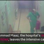 ڤيديو بثته البريطانية الرابعة لوفاة آخر طبيب أطفال في حلب ، الذي رفض ترك مرضاه والمغادرة فقُصف المشفى وتوفوا جميعًا! https://t.co/ZddFSqG7mU