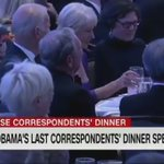 President Obama giving a shoutout to Bernie Sanders at the #WHCD https://t.co/TZRmm3ZmqG