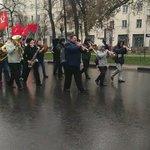 Праздничная первомайская демонстрация в Ульяновске #кпрф https://t.co/bv9674Ms2s