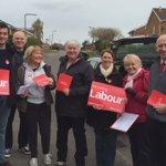 Top team out to canvass in Wickersley,  backing Sue, Chris and Emma - three of best councillors we have in Rotherham https://t.co/ATV2QAJvrB