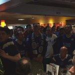 Les supporters de Leicester après légalisation de Morgan !   https://t.co/ZD7kajvu4w