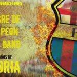 La canción con la que fue campeón #BSC, buena y letra y con mucho sentimiento barcelonés @drozband https://t.co/wZizdrIUyB