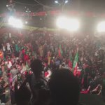 "Crowd chanting ""GO NAWAZ GO""  #لاہور_کپتان_کا   https://t.co/M2yYzcRqaI"
