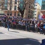 Recibimiento al Deportivo a su llegada a Riazor. @tjcope https://t.co/V77BWskFnU