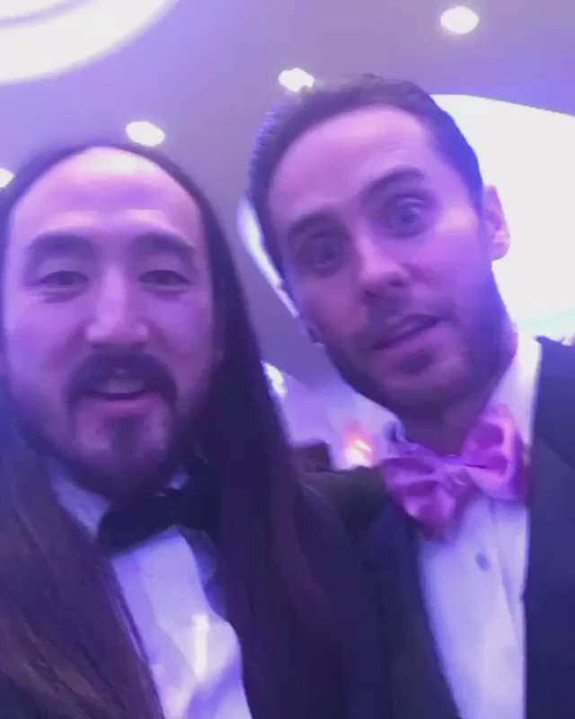 RT @steveaoki: Love this guy @JaredLeto #WHCD https://t.co/C5kF61cdpw