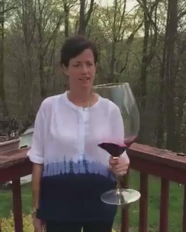 A Monday sized wine glass...
