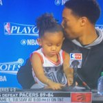 "Demar DeRozans daughter blurting out ""I love my daddy"" in their press conference 😂 https://t.co/yOF9qpxaN8"