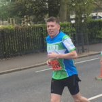 Hahaha, just seen Brendan Rodgers running Belfast Marathon! Had to tell him he was showing great character! https://t.co/R1bIqRltsR