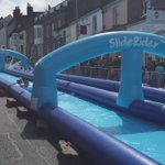 Giant waterslide fun today on North Hill #colchester https://t.co/Ukg1GrU2Hx