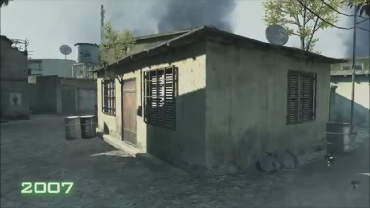 Call of Duty: #MWRemastered features completely reworked textures, audio, dynamic lighting, and visual effects. https://t.co/iKPoP605w2