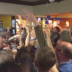 Leicester City fans watching the game. Scenes! https://t.co/wuWun5W5Kc