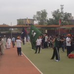 Final rehearsal underway at Qayyum Stadium of KP U-23 Games  #KPU23Games https://t.co/024qeQnenA
