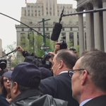 Media circus as Sheldon Silver leaves federal court after receiving a 12 year sentence for corruption https://t.co/xivj7jvq0k