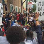Protesters at #Frisco5 hunger strike in #SF call for the resignation of #sfpd chief Greg Suhr https://t.co/zYeq7WlRhS