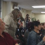 Protesters interrupted @BOENYC meeting. Voter escorted out https://t.co/ZGdi696vcc