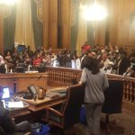 Doctors address the board supervisors and demand that police killing be declared health hazard #hungerforjusticesf https://t.co/HMqFvOy7zQ