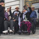 Mayor never showed; protestors inside City Hall speaking @ supervisors meeting; @EQUIPTO w final words #Frisco5 https://t.co/ZZYaxMLOYH
