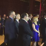 .@realDonaldTrump campaign manager & staff watch @tedcruz announce he is dropping out. Supporters behind https://t.co/BB7jbTwjYr