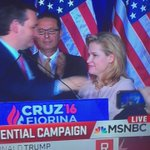 Promptly after dropping out of the race, Ted Cruz elbowed his wife in the head. #freeHeidi https://t.co/47nqNIu9PL