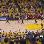 The #Warriors came back from down 11 to win by 11. The comeback was capped off by this slam from Draymond Green. https://t.co/NBuOfIPx8Q