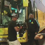The Brazilians have touched down at the TUKS Stadium. Ka Bo Yellow! https://t.co/VLx7VhRBxD