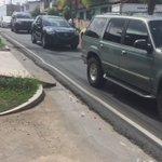 Vía Juan Pablo II, la calle con olas https://t.co/A8fGul0qH9