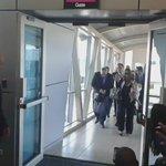 Así recibimos los panameños al  primer vuelo de @turkishAirlines hoy en el aeropuerto internacional de tocúmen. https://t.co/l0r6JHpxXk