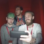 .@PewDiePie, @Jack_Septic_Eye and @markiplier walk into a booth ... #CreatorSummit https://t.co/s9pTZPqq1D