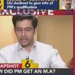 EXCLUSIVE  AAP .@raghav_chadha Exposes Narendra Modis Degree with Proof.  @ArvindKejriwal @AashishKhetan   RT Max https://t.co/6WR7yshaqb