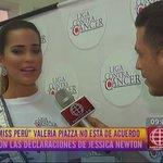 Nuestra #MissPerú Valeria Piazza no está de acuerdo con las declaraciones de Jessica Newton► https://t.co/v3PrMm0usC https://t.co/RJjdKZWlb7