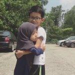 Bila besar ni, mesti jadi abang yg protective kat adik dia. Comel doh 😂 https://t.co/zdHC1bVh0s