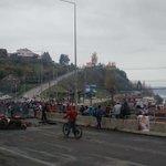 Puente Gamboa, se suma apoyo de colectiveros @prensa_erchiloe @24HorasTVN @DefendamsChiloe https://t.co/RWwkPpaR7c
