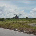 Rakaman video #Helikopter AS350 di Spaoh, Sarawak sebelum beberapa jam ia terhempas semalam. https://t.co/aRNyUjfm47