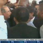 Seguridad de @DaniloMedina agreden periodista de @CDN37 en la inauguración del Metro @RodrigMarchena @nuriapiera https://t.co/crjE4pbeMi