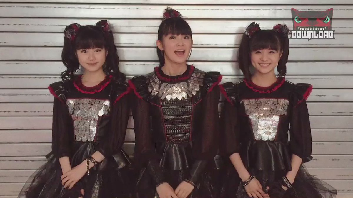 Who's looking forward to seeing @BABYMETAL_JAPAN at #DL2016... https://t.co/J2l48eItdv