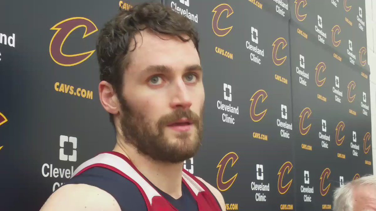 """We still have another level we can get to."" - Kevin Love on #Cavs Big 3 setting tone for team in #NBAPlayoffs https://t.co/5KYqOXREH3"