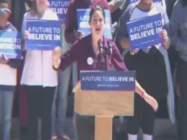"""No movement is alone"" - @shailenewoodley's Providence RI speech gives me so much hope"