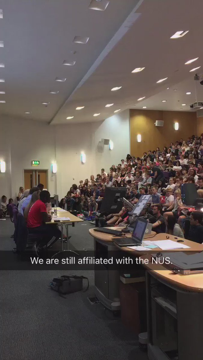 Surrey students vote to stay affiliated with @nusuk https://t.co/0YXu0t79dn