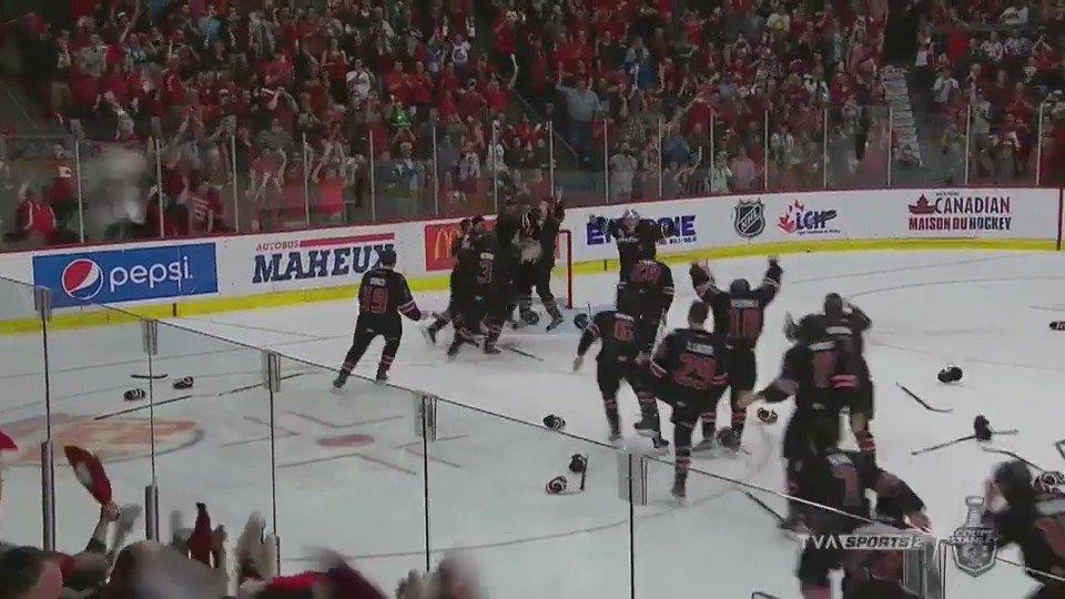 Les Huskies de Rouyn-Noranda remportent la Coupe du Président. #LHJMQ #CoupeduPresident https://t.co/v0Z8YHn72f