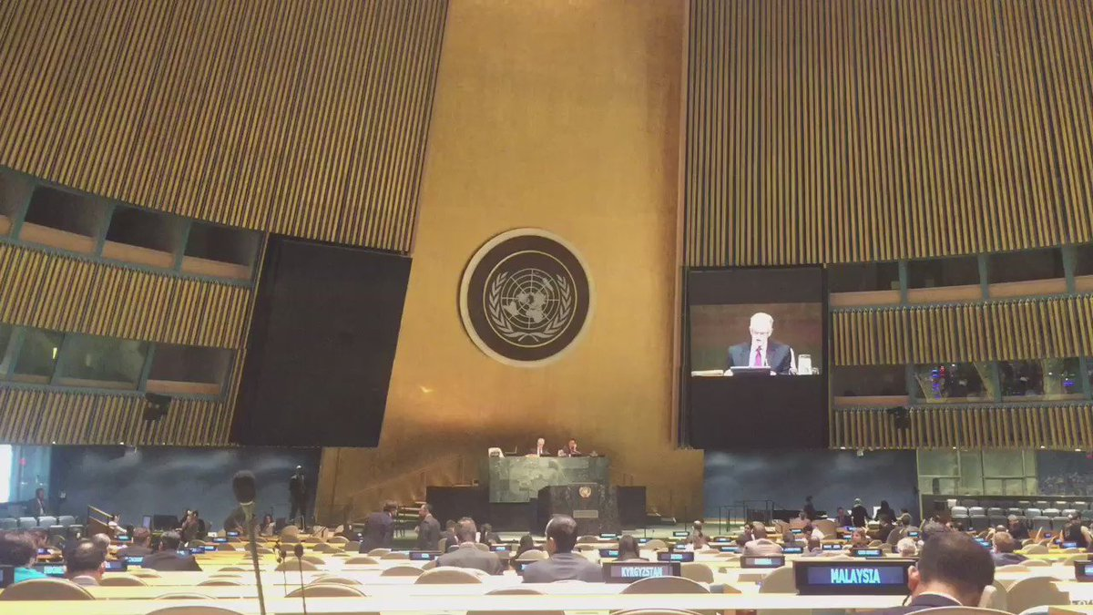 Congrats to @SolheimDAC! Just appointed as @UN's new head for the Environment in @UNEP https://t.co/dNhNqV80H5