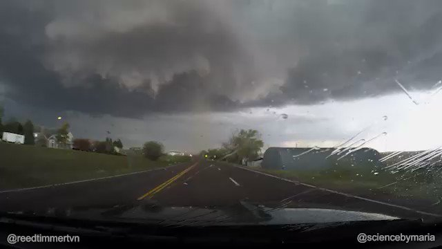 TIME-LAPSE: Wray, CO EF2 tornado from start to maturity with satellite vortex! @sciencebymaria @warningaware #cowx https://t.co/Qx7wlNns7P