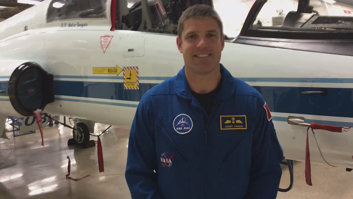 Congrats to @Astro_DavidS, our next Canadian to fly to #ISS! @csa_asc https://t.co/qIevU1Mdyn