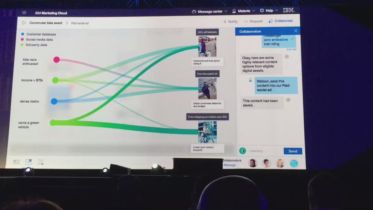 #IBMAmplify shows Watson how to create a social ad https://t.co/EwjXfjn4da