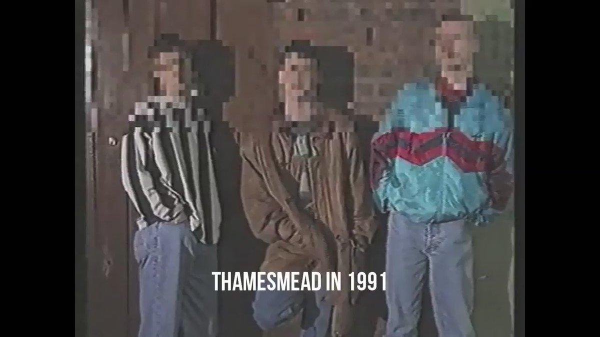 Thamesmead in 1991 vs Thamesmead in 2010