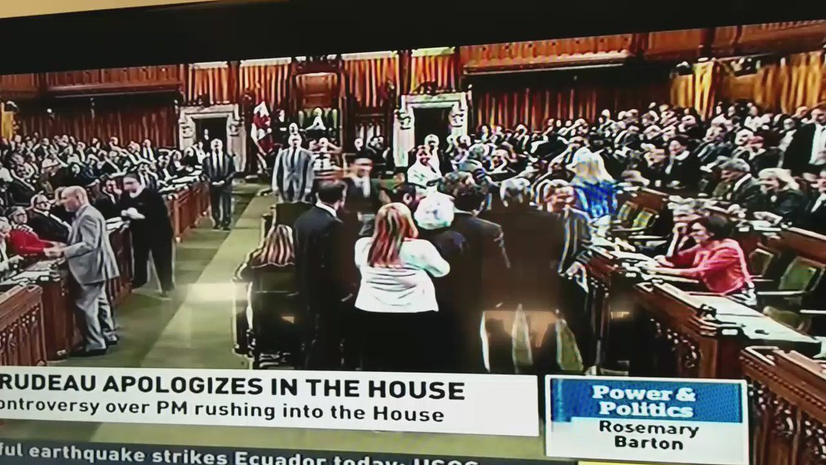So this is what happened in the House of Commons just now. https://t.co/oBtqDZlrqL